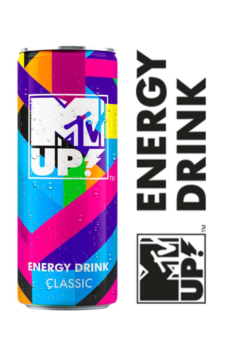 MTV UP: ENERGY IN A CAN